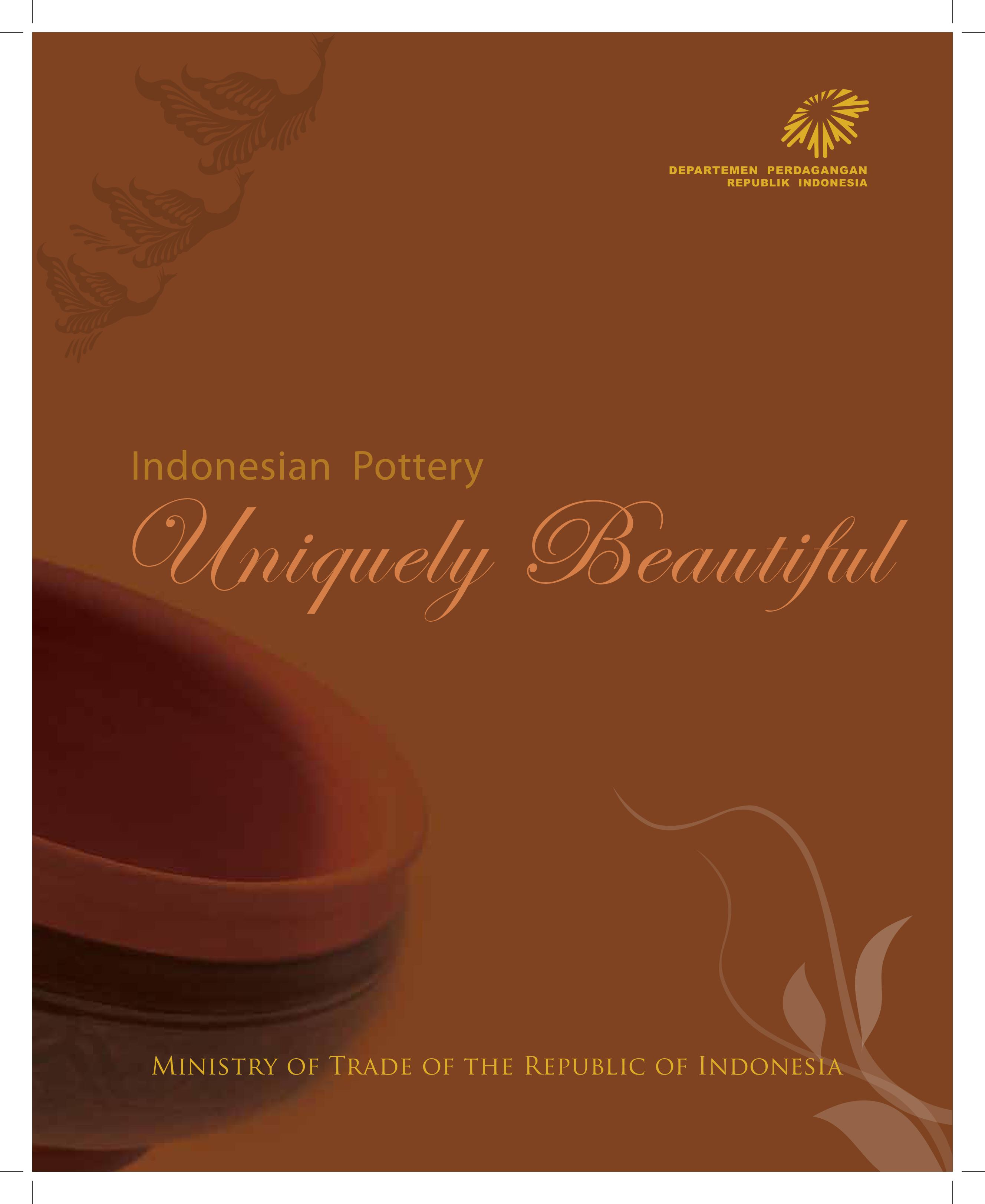 indonesian pottery
