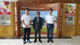 ITPC Busan visited MSC, Co., LTD