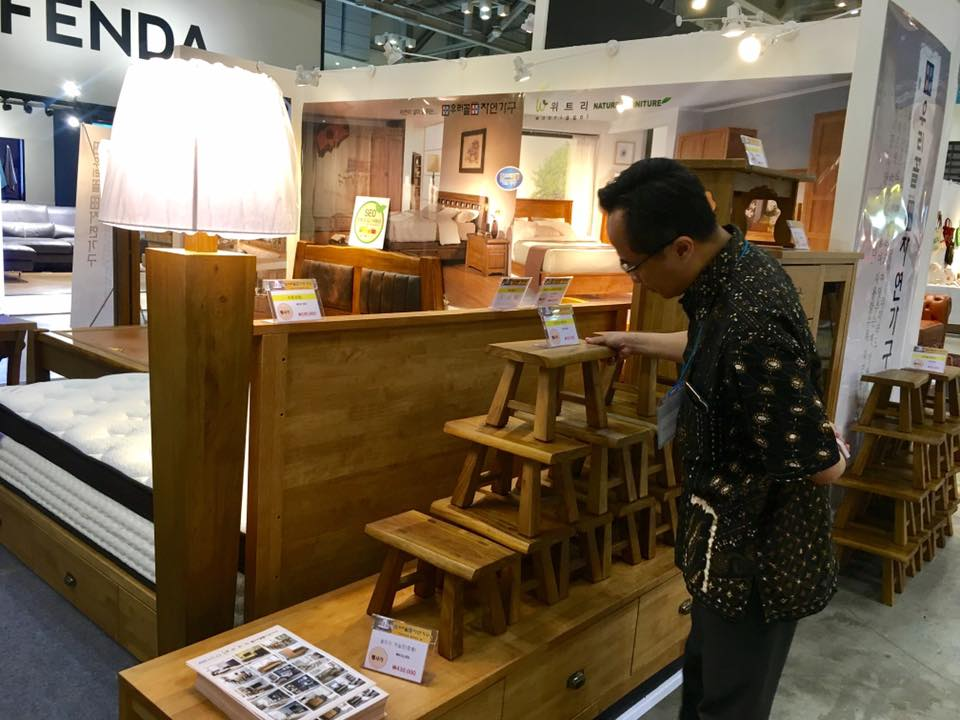 Indonesia Furniture In Home Table Deco Fair 2017 Indonesian Trade Promotion Center Busan Branch