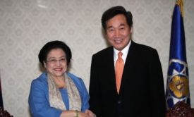 PM meets with former Indonesian President Megawati