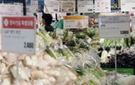 Korea's producer prices drop at fastest pace in over 3 yrs in Nov.
